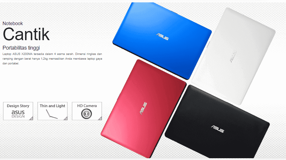 Laptop asus X200MA harga 2 jutaan ram 4gb