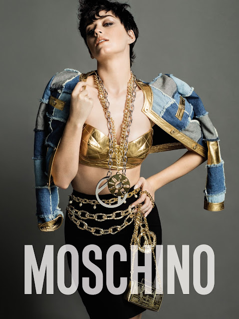 Katy Perry Stars In Moschino's Fall/Winter 15 Ad Campaign!