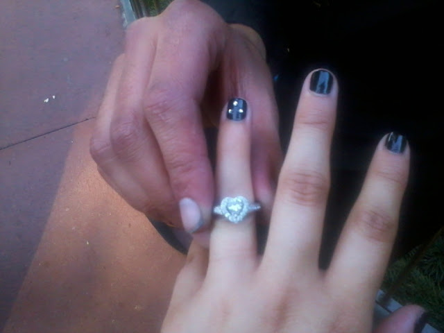 Real Disneyland Engagement - Nadia and Danny