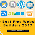 10 Best Free Website Builders 2017