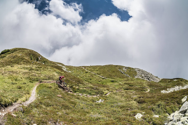 Wiedersberger Horn mit dem Mountainbike