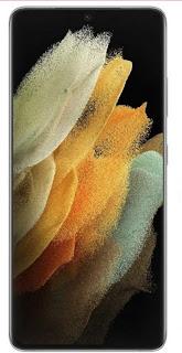 Tampilan layar HP Samsung Galaxy S21 ultra