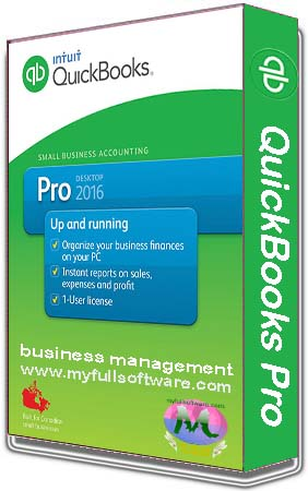 QuickBooks Pro 2016 Accounting Software Full Version Download