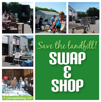 Divert thousands of tons of trash from a landfill while shopping green.