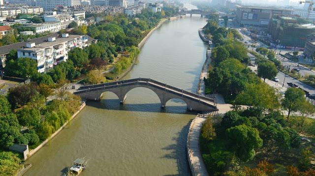 Grande Canal da China contraria a Terra esférica