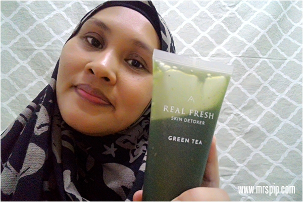 Real Fresh Skin Detoxer Green Tea for night use