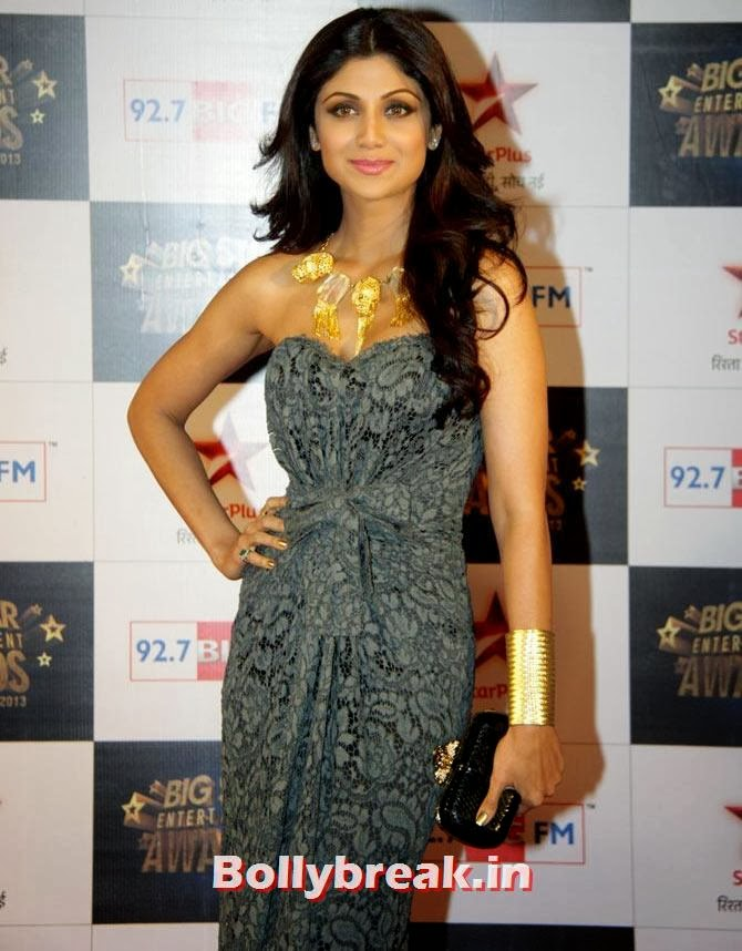 Shilpa Shetty, Who was Bollywood's BEST DRESSED actresses of 2013?