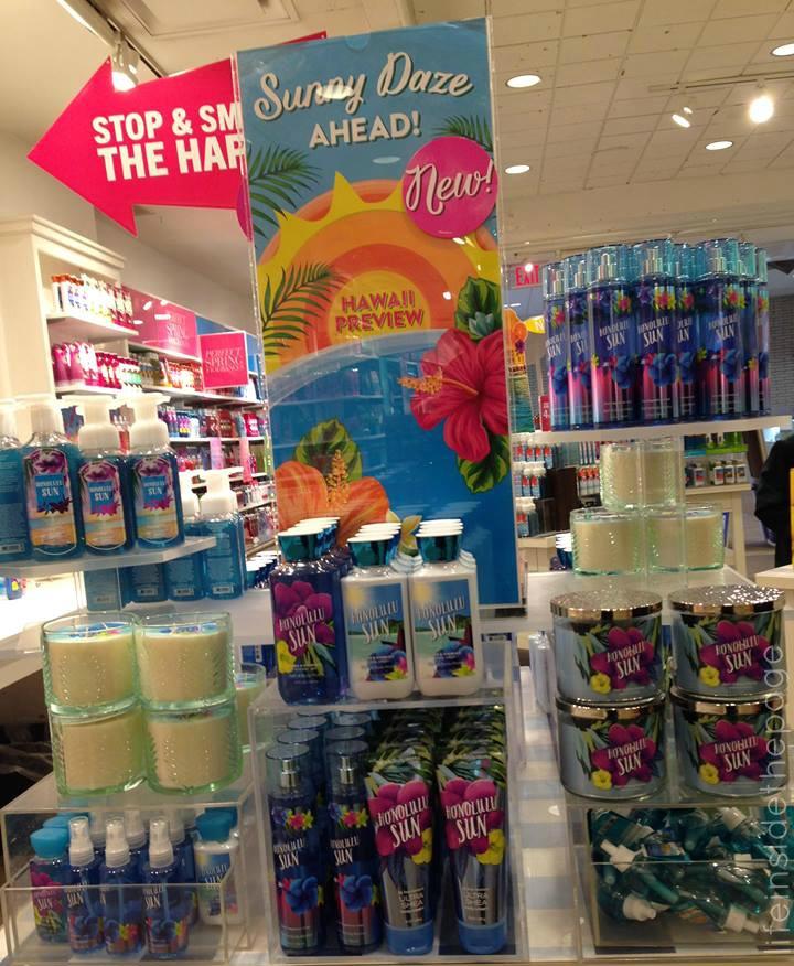 Lifeinside the page bath body works aloha hawaii for The bathroom store honolulu