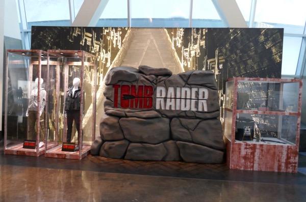 Tomb Raider film costume prop exhibit