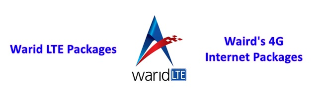 Warid 4g internet packages