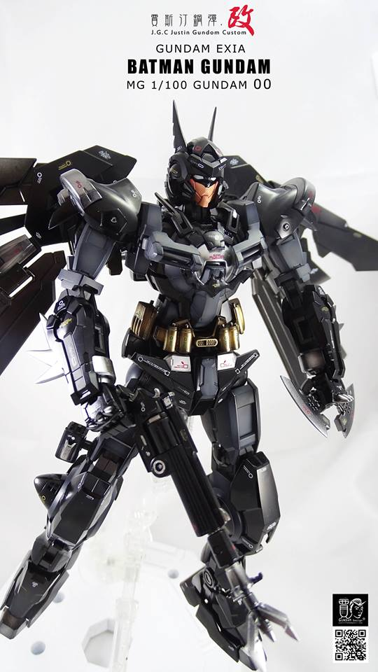 Custom Build: MG 1/100 Batman Gundam Exia