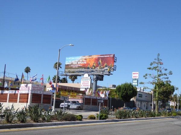 Only The Brave billboard
