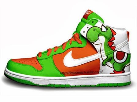 Nike Dunks Custom Design Sneakers   Nike Dunks Super Mario Bros ... b3152781c