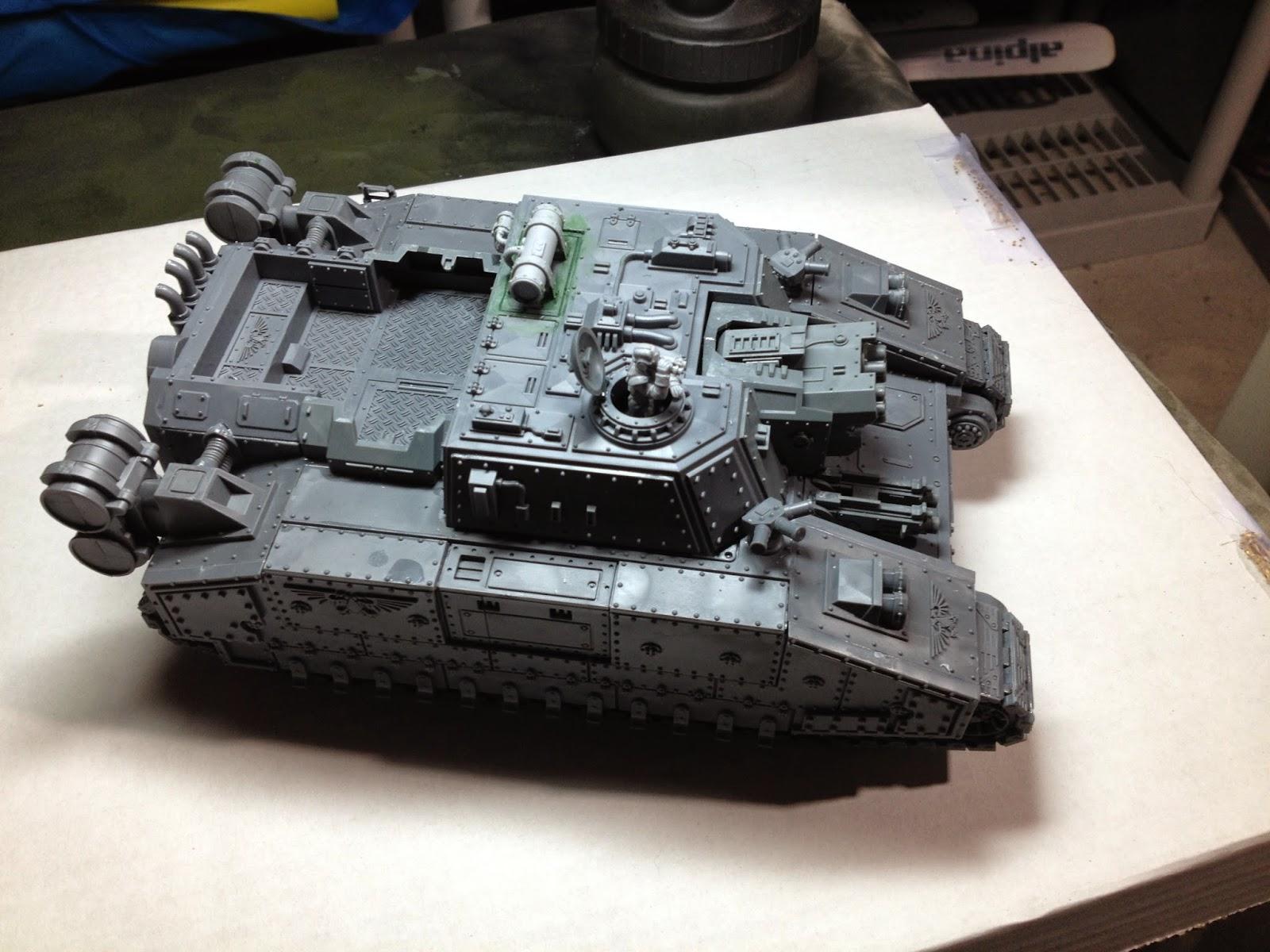 Death Korps of Krieg Stormlord WIP