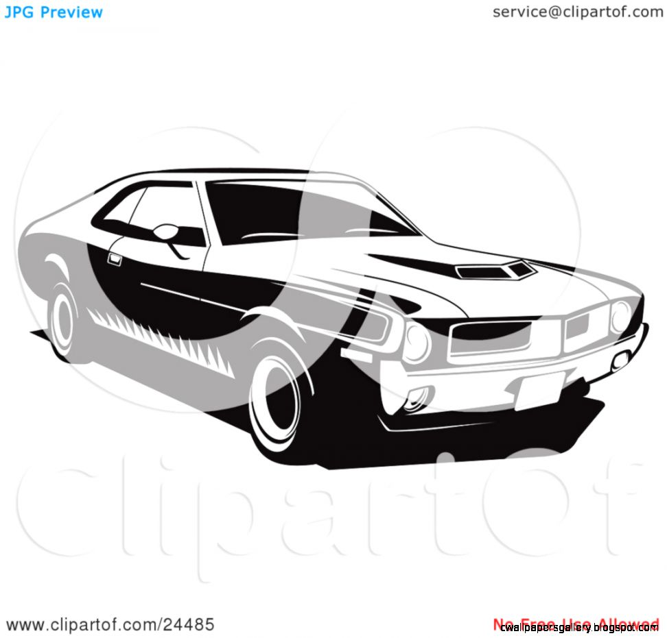 Classic Muscle Car Wallpapers: Classic Muscle Car Clipart