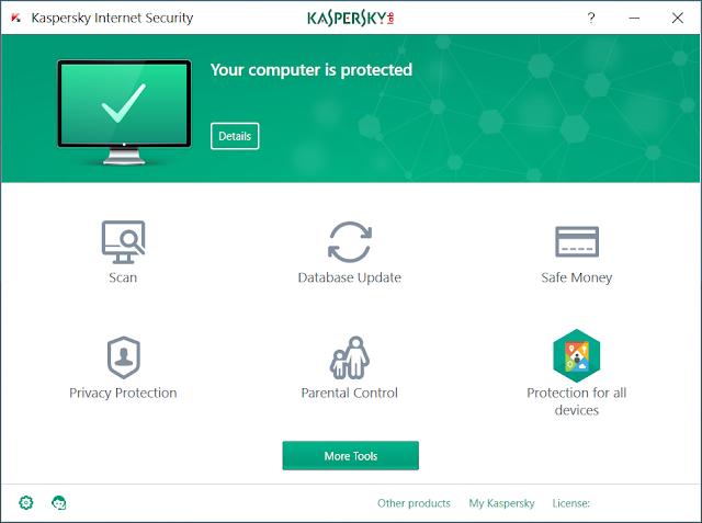 Kaspersky Internet Security 2018 - Key KIS 2018 mới nhất