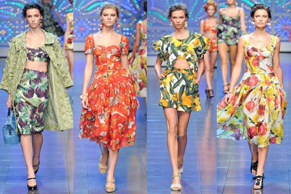 овощная коллекция Dolce&Gabbana