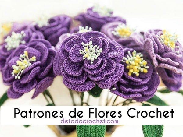 esquema-de flor-crochet