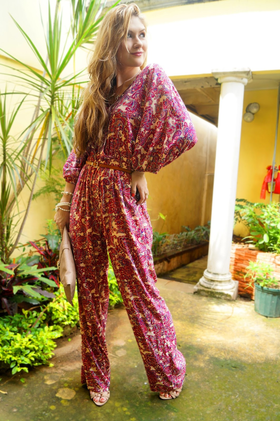 Boho Chic Jumpsuit