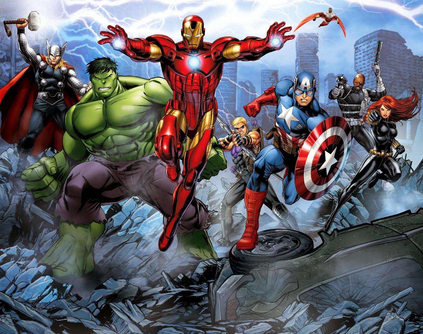Avenger Assemble - Film Animation Cartoon HD