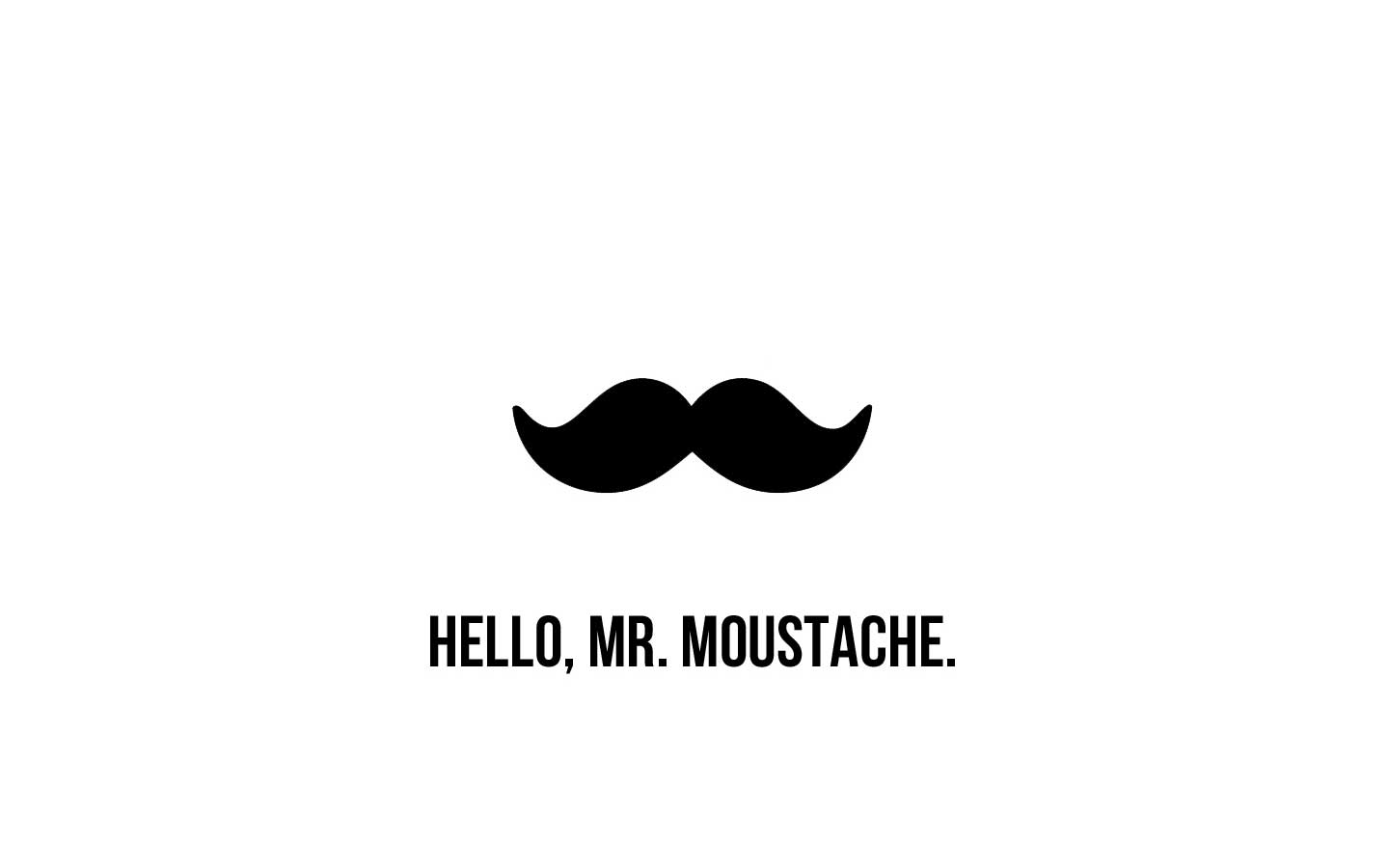 Free Cute Cartoon Wallpapers Wallpaper Mansion Moustache Wallpapers