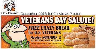 free Little Caesars coupons december 2016
