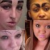 SO HILLARIOUS!! Make-up gone wrong: Hilarious eyebrows fails in the history of the Internet (Photos)