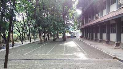 Lahan Parkir FSM Undip