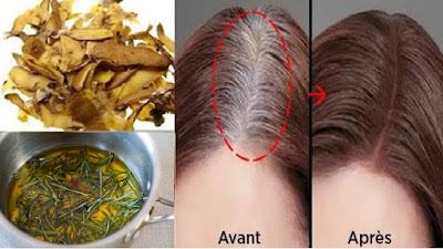 Remède naturel pour les cheveux gris à base des pommes de terre