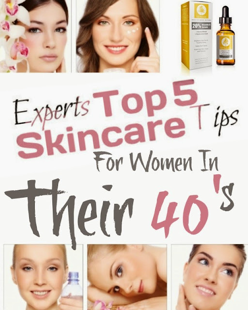 Experts Top 5 Skincare TIps For Women In Their 40's, by Barbie's Beauty Bits