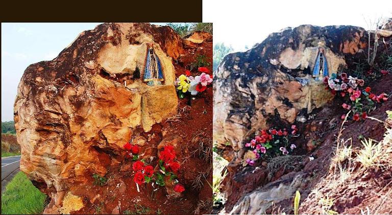 Nossa Senhora Aparecida em Ribeirão Bonito, antes e depois