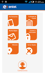 ENTEL PERÚ ANDROID