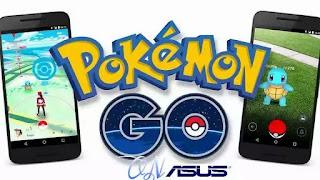 Pokemon go di asus zenfone
