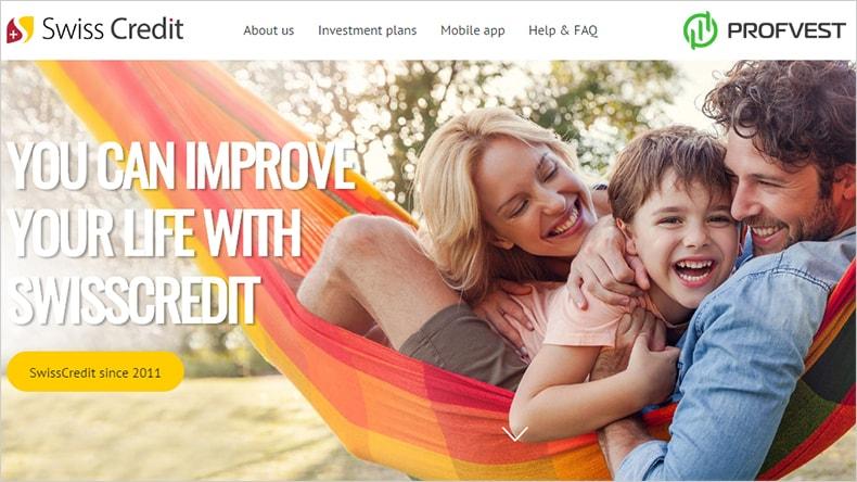 Swiss Credit обзор и отзывы вклад 1000$
