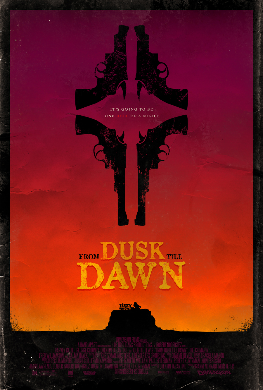 The Geeky Nerfherder: Movie Poster Art: From Dusk Till ...