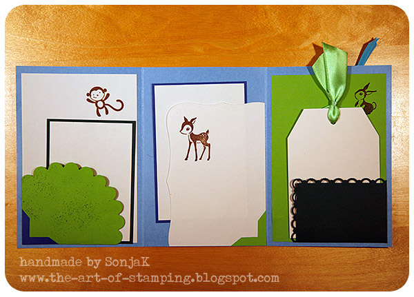 Stampin up Forest friends