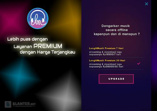 Lebih puas dengan Layanan Premium Langit Musik