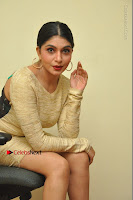 Actress Pooja Roshan Stills in Golden Short Dress at Box Movie Audio Launch  0087.JPG
