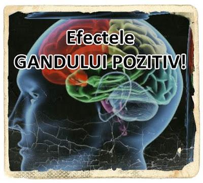 wiki gandirea pozitiva antreneaza efectul gandului pozitiv care face miracole