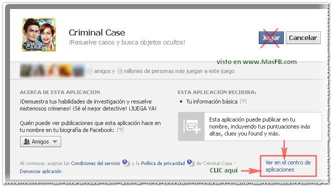 Criminal Case Facebook
