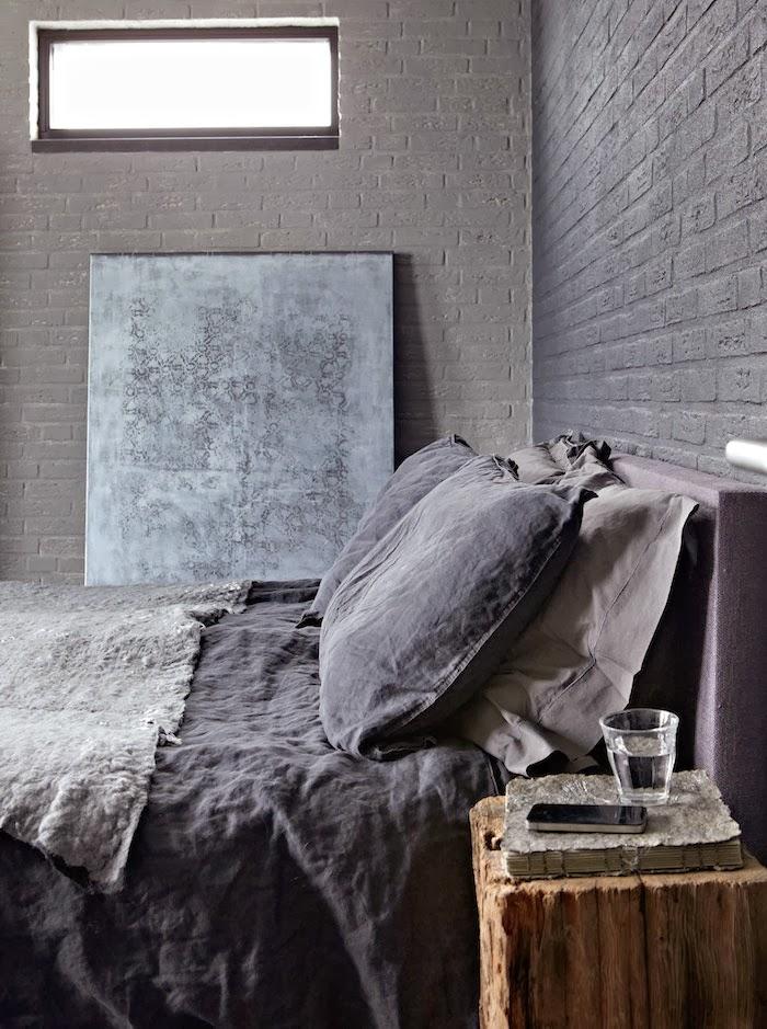 Industrial Grey Bedroom