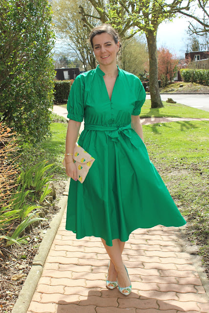 tendance midi, comment porter la jupe ou robe midi les petites bulles de ma vie