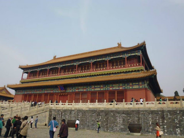 Salón de la Armonía Suprema (Ciudad Prohibida) (Beijing) (@mibaulviajero)