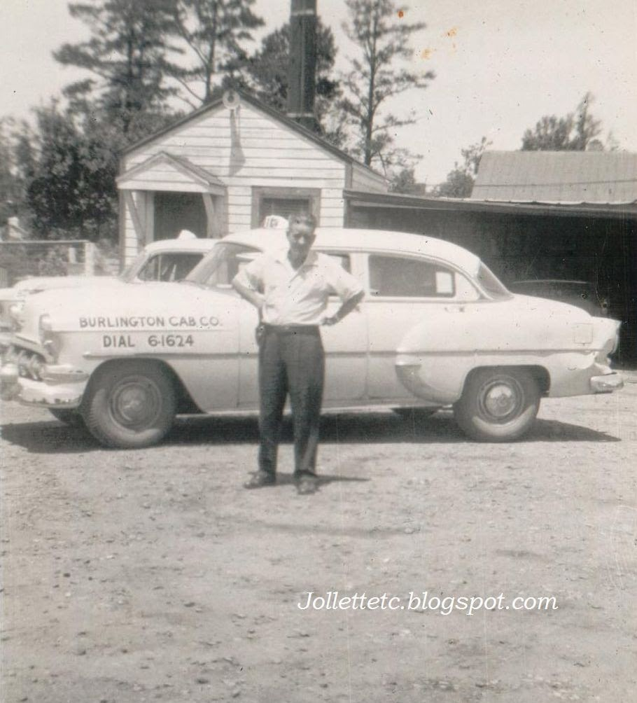 Burlington Cab Company 1956