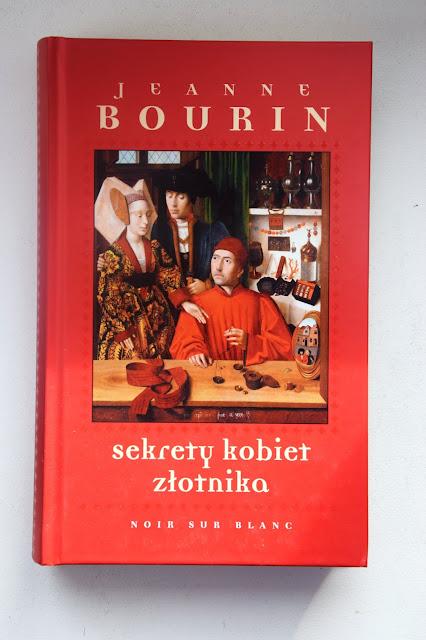 """Recenzje #69 - """"Sekrety kobiet złotnika"""" - okładka książki pt. """"Sekrety kobiet złotnika"""" - Francuski przy kawie"""