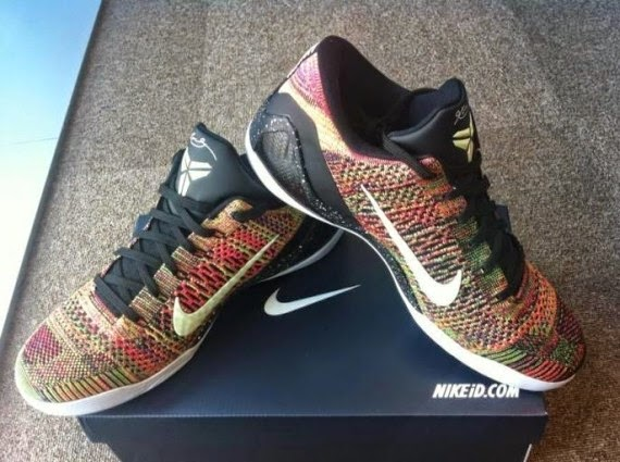 """... buy popular  ac04b ffdce Take a look at this Nike Kobe 9 Elite Low  """"Masterpiece"""" style ... e9a62f1c6"""