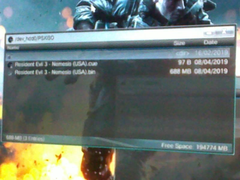 Cara main game PS1 di PS3