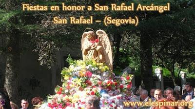 Programa de las fiestas de San Rafael septiembre 2017