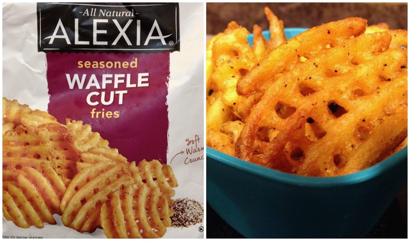 are alexia seasoned waffle cut fries gluten free