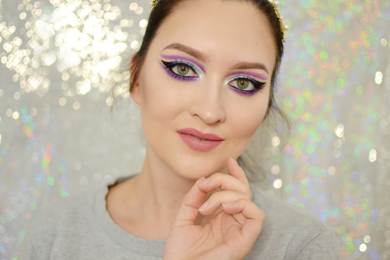 tutorial makijaż zendaya cut crease